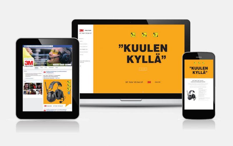 Suomen 3M Peltor WS Alert XP kuulosuojaimet