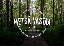 Työnäyte: Metsä Vastaa kiertue - Visuaalinen suunnittelu ja brändin kehittäminen