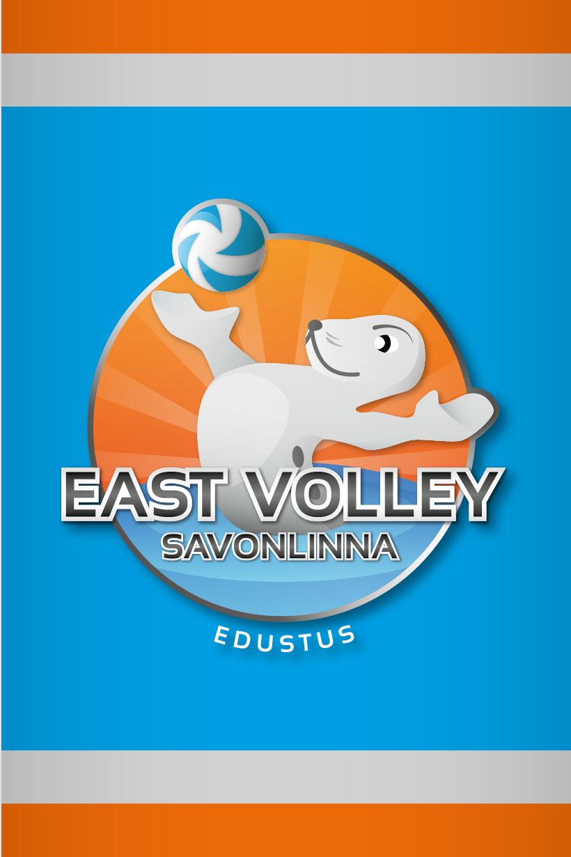 Työnäyte: East Volley lentopalloseuran logon ja tunnuksen sekä verkkosivujen suunnittelu ja toteutus