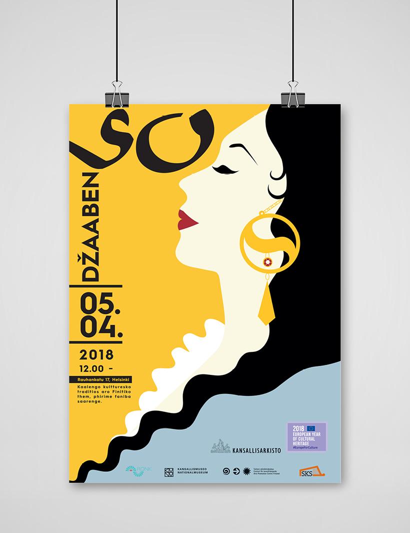 Työnäyte: Kansallisarkiston visuaalinen ja graafinen suunnittelu sekä mainonnan suunnittelu ja toteutus