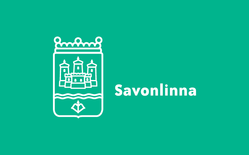 Työnäyte: Savonlinnan kaupunki - Logon ja tunnuksen suunnittelu, visuaalinen ja graafinen suunnittelu