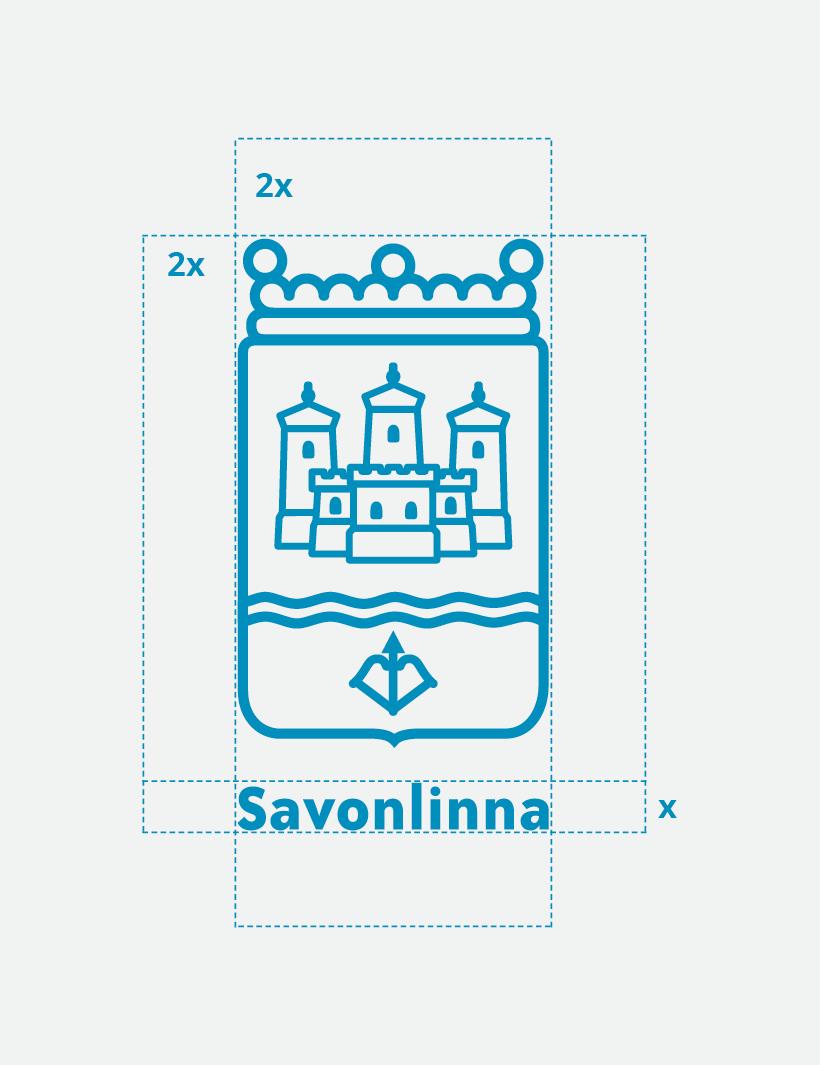 Työnäyte: Savonlinnan kaupunki - Logon ja tunnuksen suunnittelu