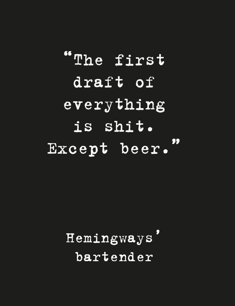 Työnäyte: Hemingways - Visuaalinen ja graafinen suunnittelu