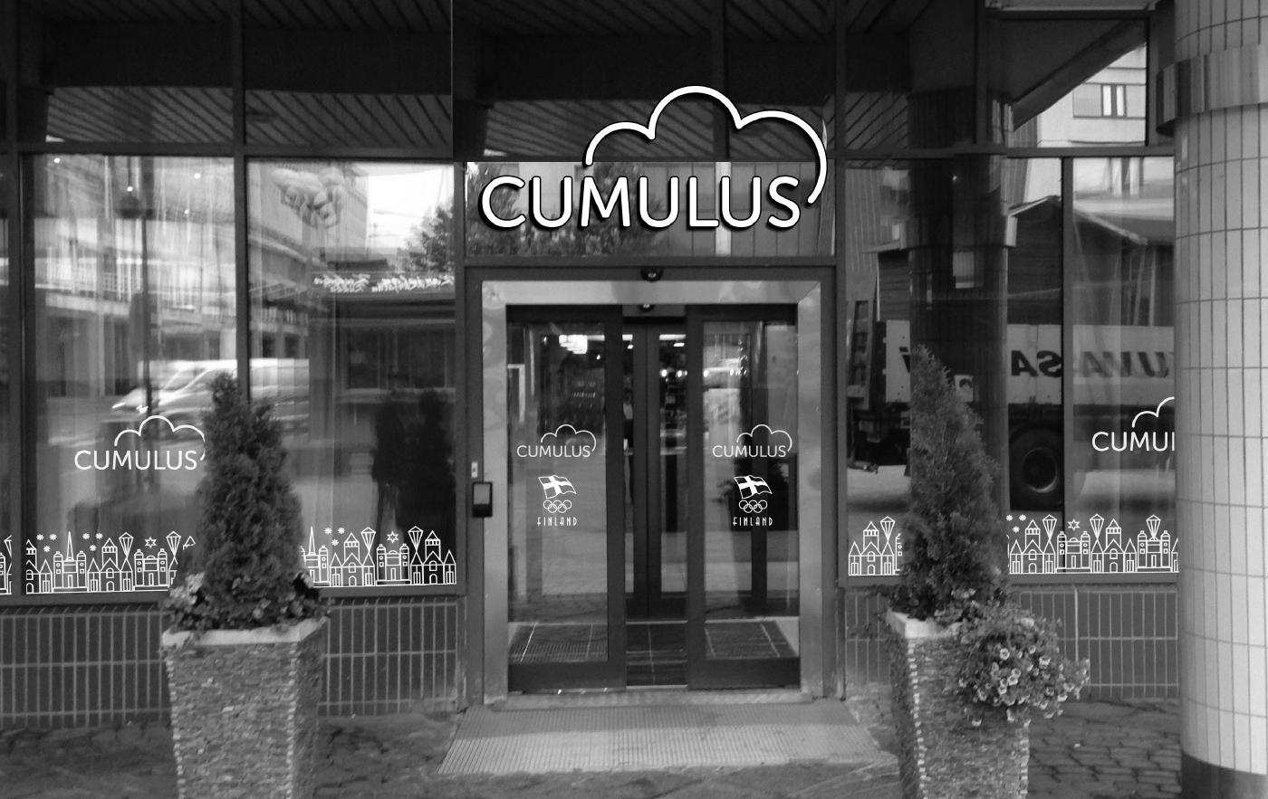 Työnäyte: Cumulus - Brändin kehittäminen, visuaalinen ja graafinen suunnittelu sekä kampanjasuunnittelu