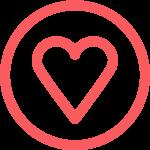 Mainos- ja digitoimisto Hinku - sydän ikoni
