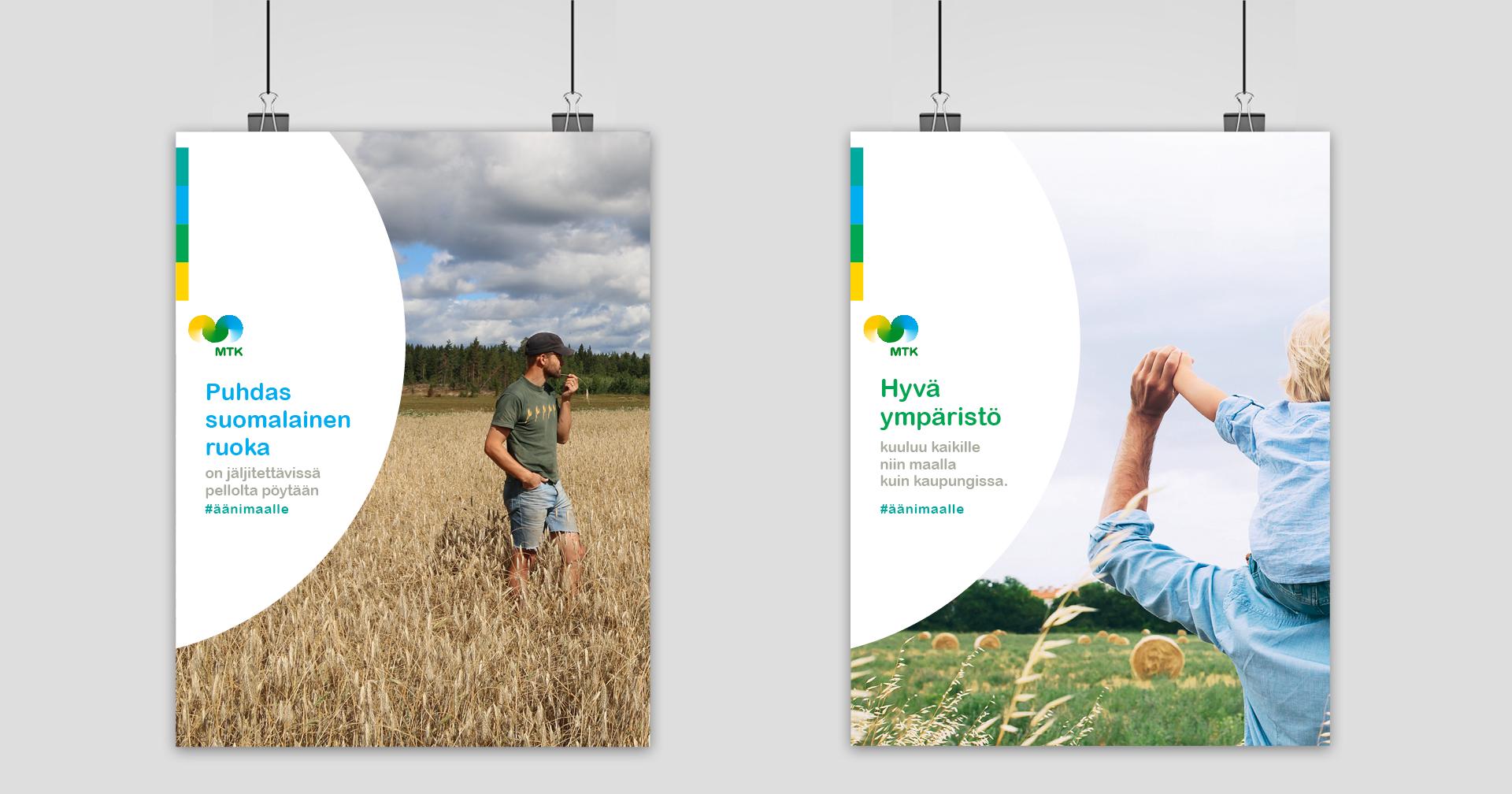 Työnäyte: MTK - vaikuttavaa viestintää; Julkaisun ja sisällön suunnittelu, visuaalinen ja graafinen suunnittelu