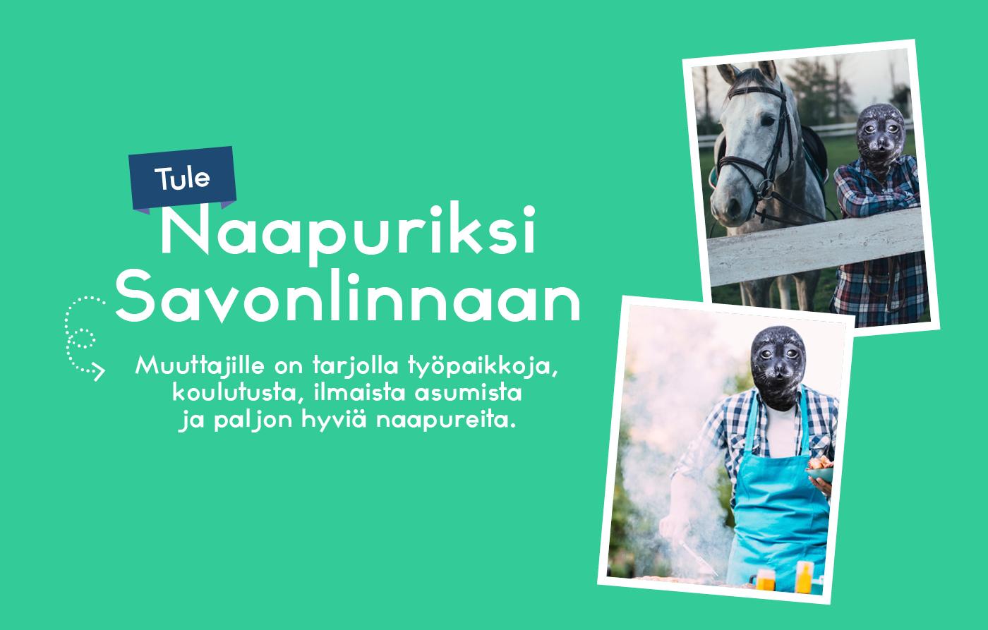 Naapuriksi Savonlinnaan verkkosivu kampanja