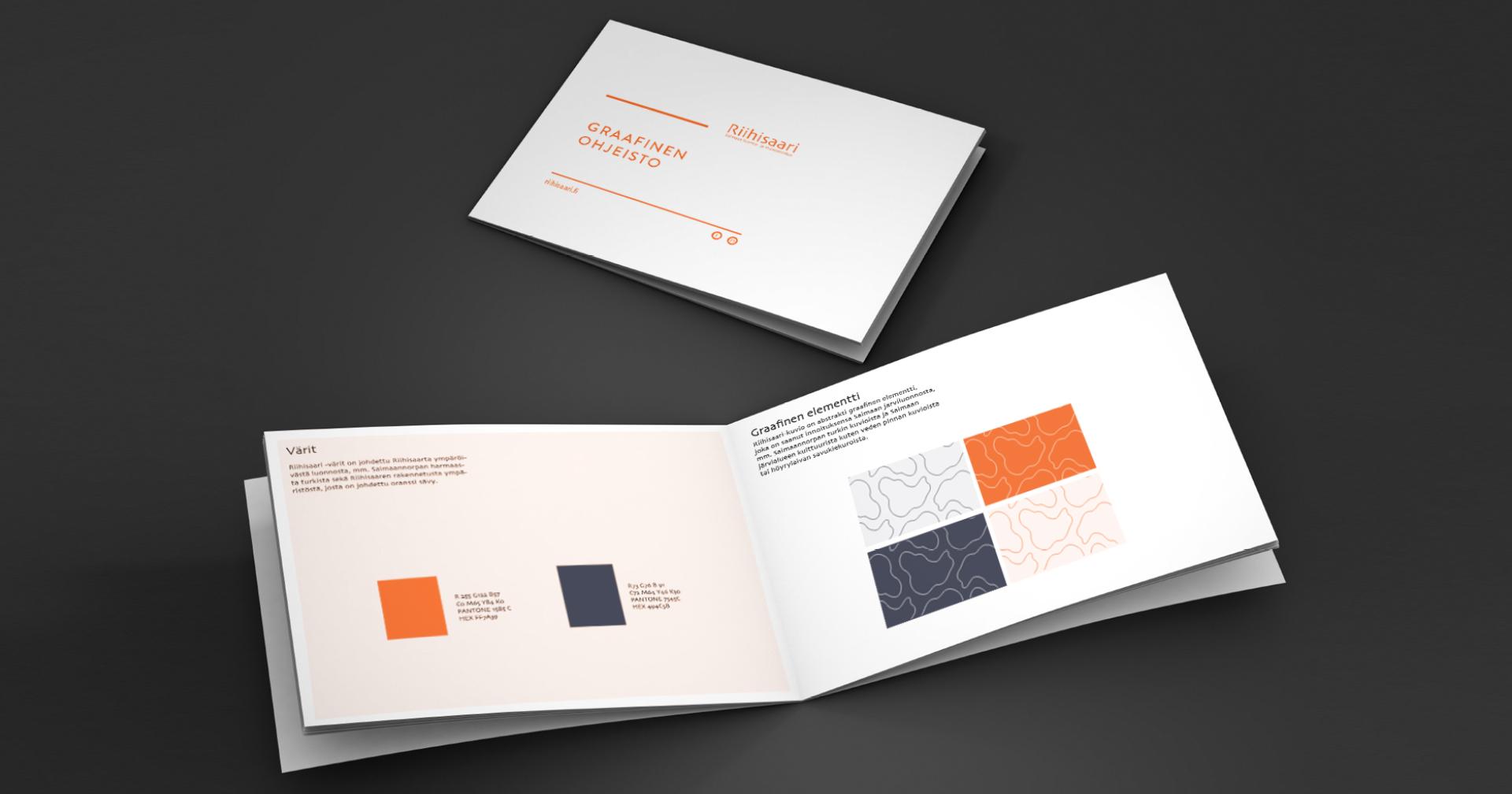 Työnäyte: Riihisaari - graafinen suunnittelu ja toteutus