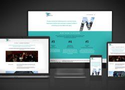 Työnäyte: Northern Network of Arts yhteisön nettisivujen uusi ilme